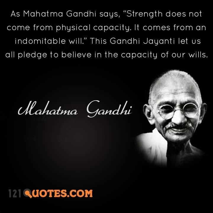 Best Gandhi Jayanti status image