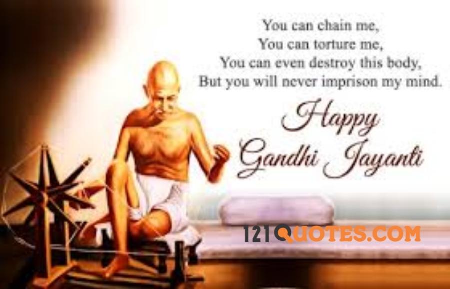 Happy Gandhi Jayanti messages